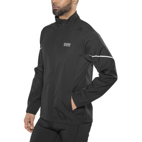 GORE RUNNING WEAR Essential WS Active Partial Veste Homme, black